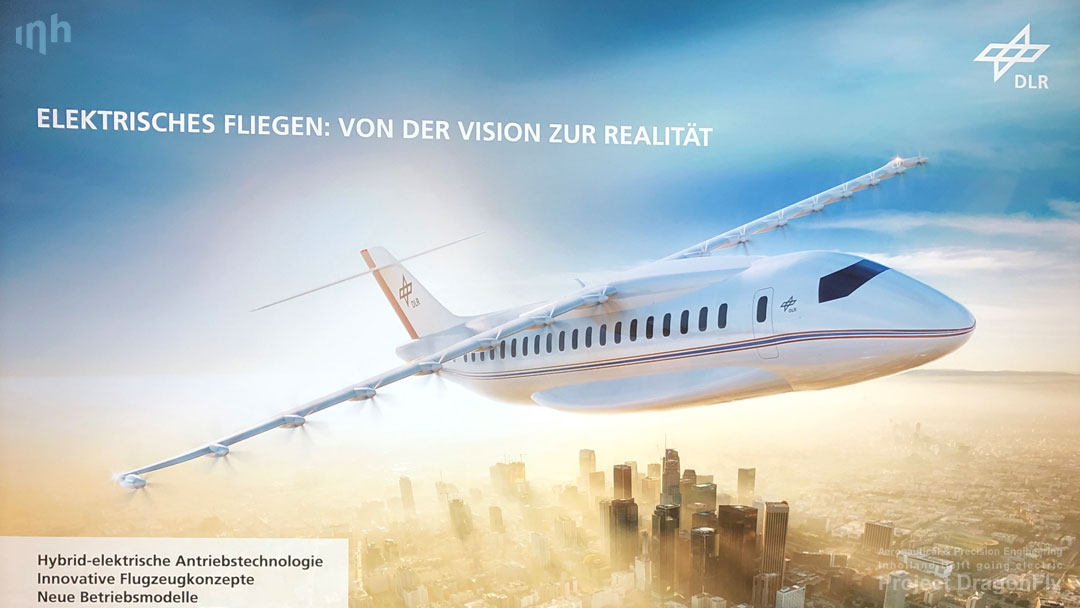 project dragonfly aeronautical & precision engineering inholland university of applied sciences delft the netherlands electric propulsion sustainable aviation simulation digital twin augmented reality small composites lightweight aircraft retrofit zero emission free Dutch initiative haarlem VTB vliegtuigbouwkunde