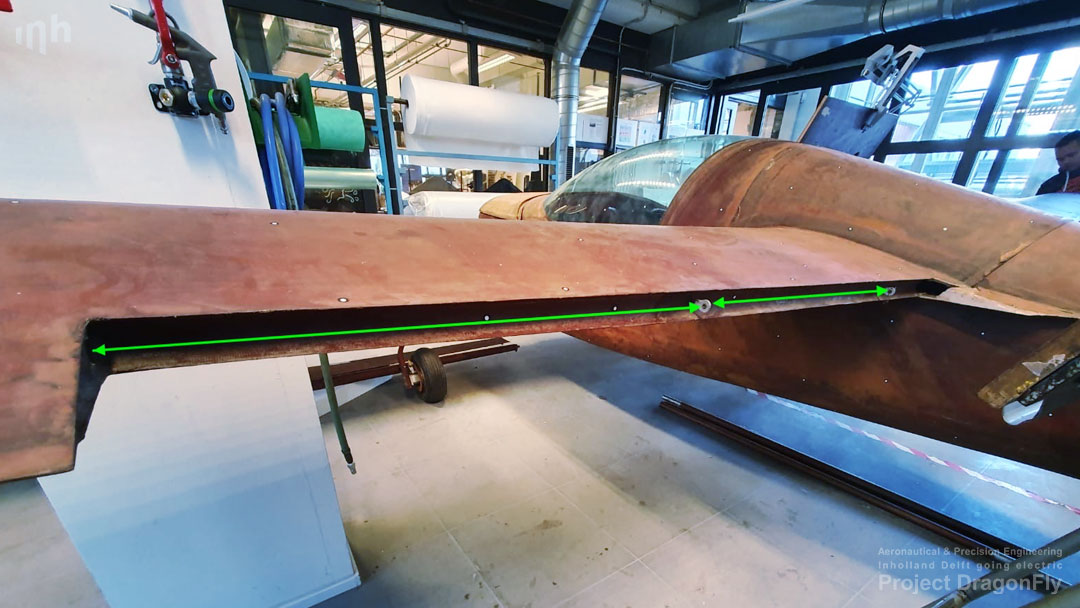 project dragonfly aeronautical & precision engineering inholland university of applied sciences delft the netherlands electric propulsion sustainable aviation simulation digital twin augmented reality small composites lightweight aircraft retrofit zero emission free Dutch initiative aileron
